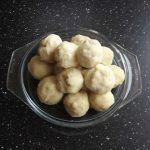 Deegballen maken aardappelen!